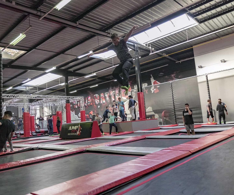 activities of the jumpcity trampoline park in seine